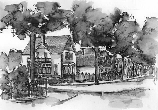 Cadeau idee pentekening van huis villa boot of favoriete plek laten maken vanaf foto - Idee van eerlijke lay outs ...